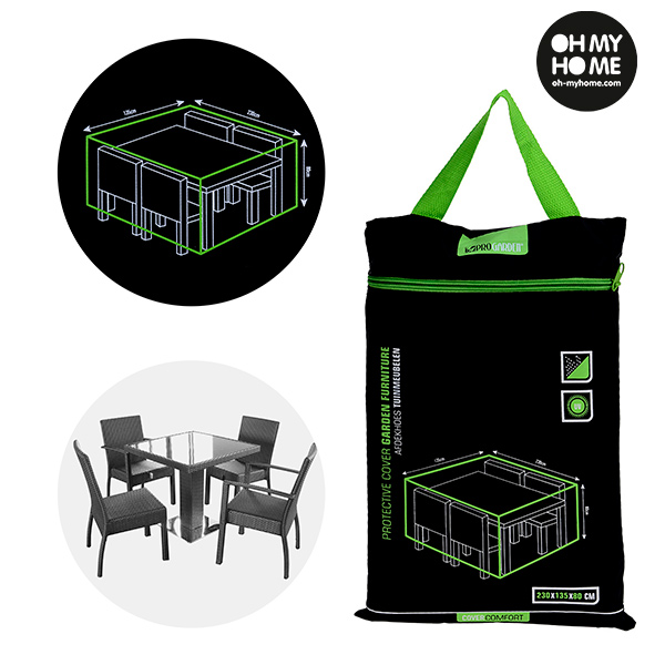 Oh My Home Garden Table And Chairs Waterproof Cover