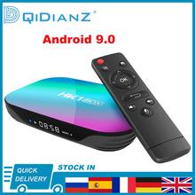 Smart TV BOX HK1 Box Android 9 0 HK1BOX 4K 1080P Amlogic S905X3 8K Quad Core 2 4 5G DUAL WIFI DUAL BT multimedia-Player cheap DQiDianZ 100 Mt CN (Herkunft) Amlogic S905X3 64-bit quad core 32 GB eMMC 64 GB eMMC 128 GB eMMC Kein Android TV 4G DDR3