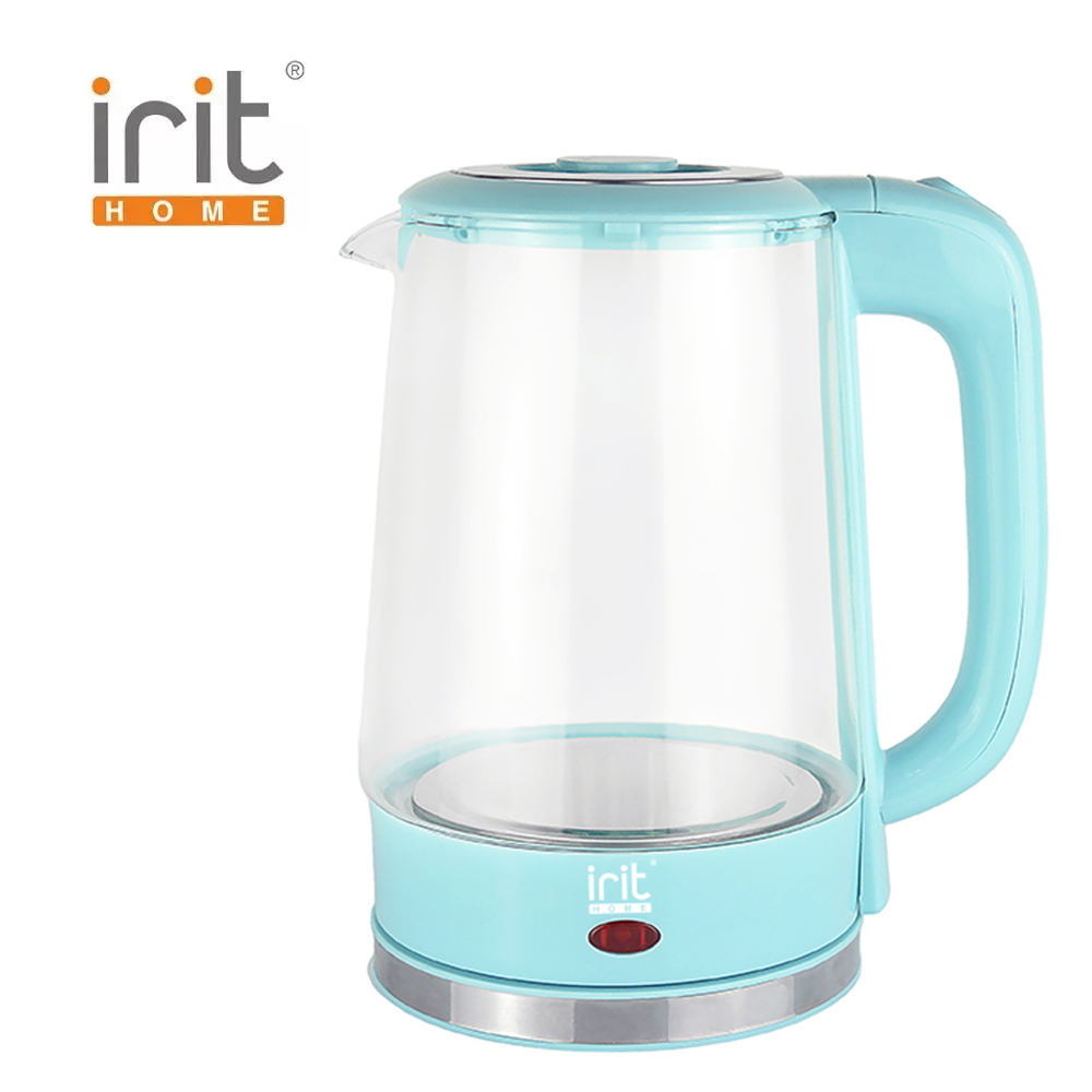 лучшая цена Kettle glass electric Irit IR-1906 Kettle Electric Electric kettles home kitchen appliances kettle make tea Thermo