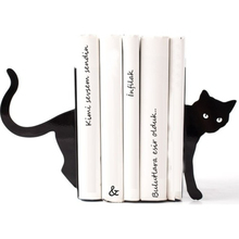 Decorative Animal Metal Bookends Book Holders Non-skid Bookshelf Duty Iron Art Black Stand for Support Magazines CD Organizer
