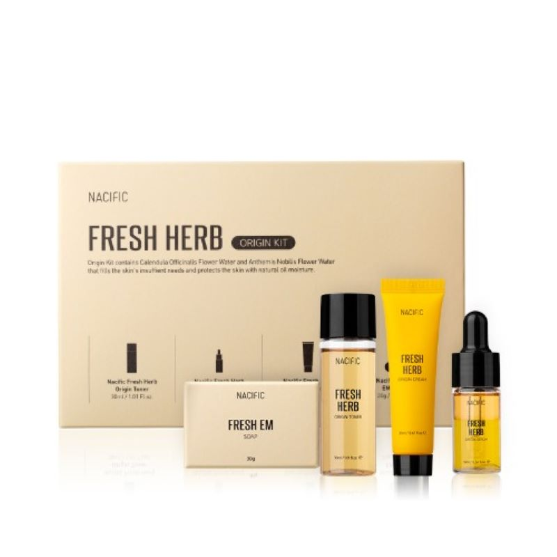 Nacific Official [Korea NO.1 Skin Care Kits] - Fresh Herb Origin KIT (Skin Care Set&kit, Korea Cosmetic)
