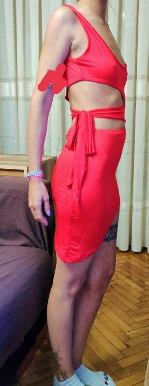 Sexy Womens Sleeveless Bandage Hollow Bodycon Dress Tank High Waist Women Irregular Short Dress reviews №1 527282
