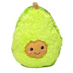 Creativo juguete de felpa aguacate fruta de peluche planta de juguete de dibujos animados muñeca almohada niños regalo de peluche
