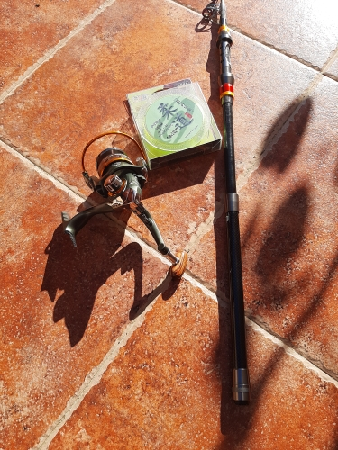 1.8-3.6m Telescopic Fishing Rod and 11BB Fishing Reel photo review