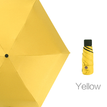200g Small Fashion Folding Umbrella Girls Anti-UV Rain Women Gift Men