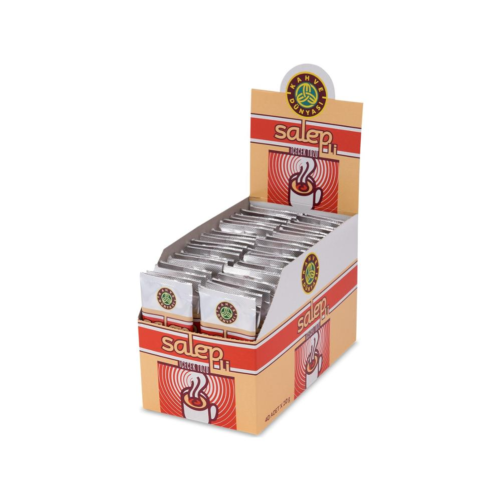 Coffee World Salep Disposable Pack Of 40 | Sahlep