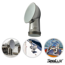 Sealux Round Sheet Vent for Boat Yacht Stainless steel 304 Marine accessory
