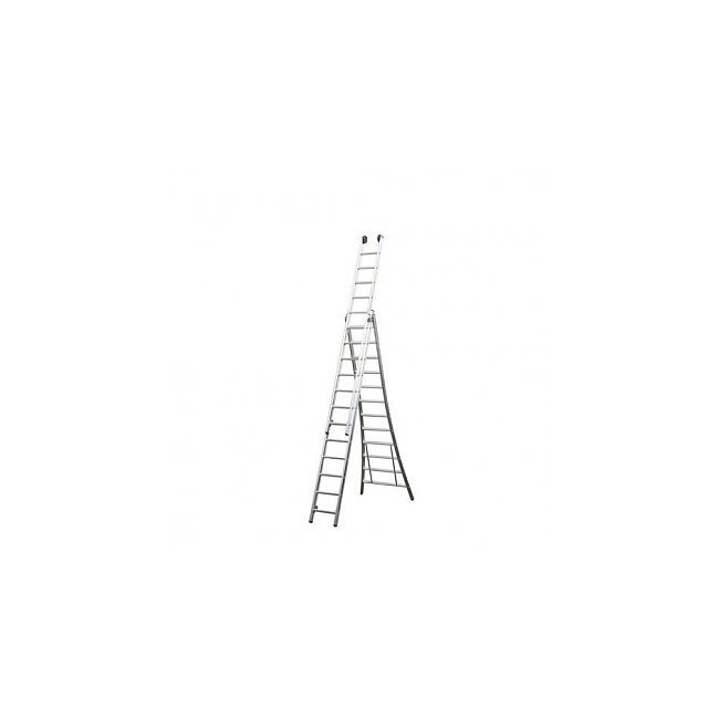 Extension Ladder Aluminum MAXALL 3x12