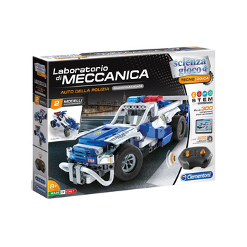 Mechanical Workshop-police car radio controlled