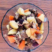 胡萝卜土豆炖牛腩的做法图解7
