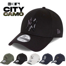 New Era 9FORTY - ORIGINAL Camo CITY, Gorra de beisbol Nueva York NY New York Yankees MLB, Los Angeles Dodgers, Boston Red Sox