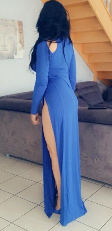 Vestidos Femininos New Women Summer Party Dress Maxi Bandage Split Club Vestidos Prom Blue Long Slit Elegant Dress J0112|dress stretch|dresses njdresse - AliExpress