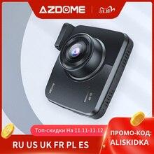 AZDOME GS63H Built in GPS WiFi Dual Lens FHD 1080P Front + VGA Rear Camera Car DVR Recorder 4K 2160P Dash Cam Dashcam Recorder