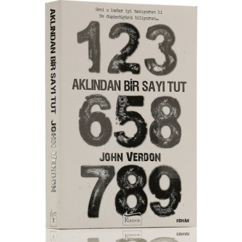 купить From the mind of A Number Hold-John Verdon 'Turkish' Book в интернет-магазине
