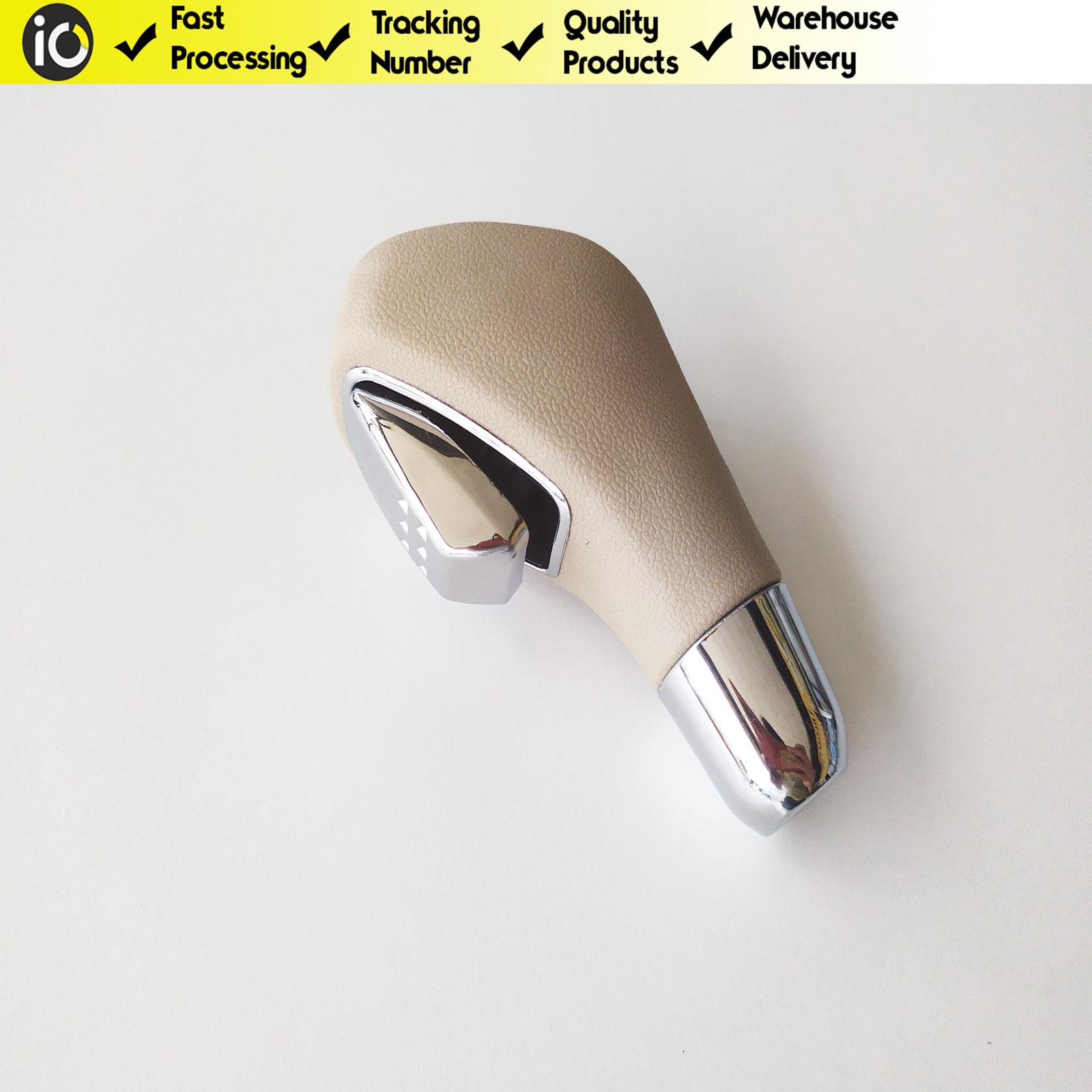 6 Скорость автоматический Шестерни рукоятка рычага переключения передач для Fluence Megane 3 бежевый 8200574279 Сумки из натуральной кожи