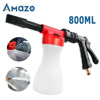 car washer Foam nozzle Car Washing Gun Cleaning Snow Foamer Lance Water Soap Shampoo Sprayer Spray