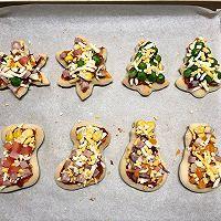 圣诞迷你披萨的做法图解10