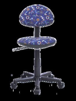 Компьютерное кресло, детское кресло Логика якоря фон синий ткань.Кресло для дома , для ребенка, удобное кресло, офисное кресло фото