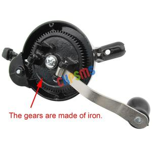 Image 2 - 1SET Hand Crank fit for Singer Spoked Wheel Treadle Sewing Machines 15 ,127,128,66, 99 #HA 1 126