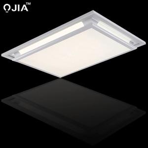 Image 4 - Led ceiling lights square white dimmer or switch for sitting room retange led commercial ceiling light fixtures luminaria teto
