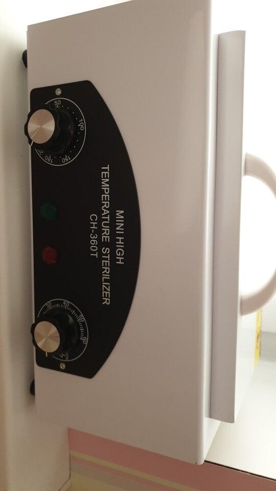 -- Temperatura Esterilizador Máquina