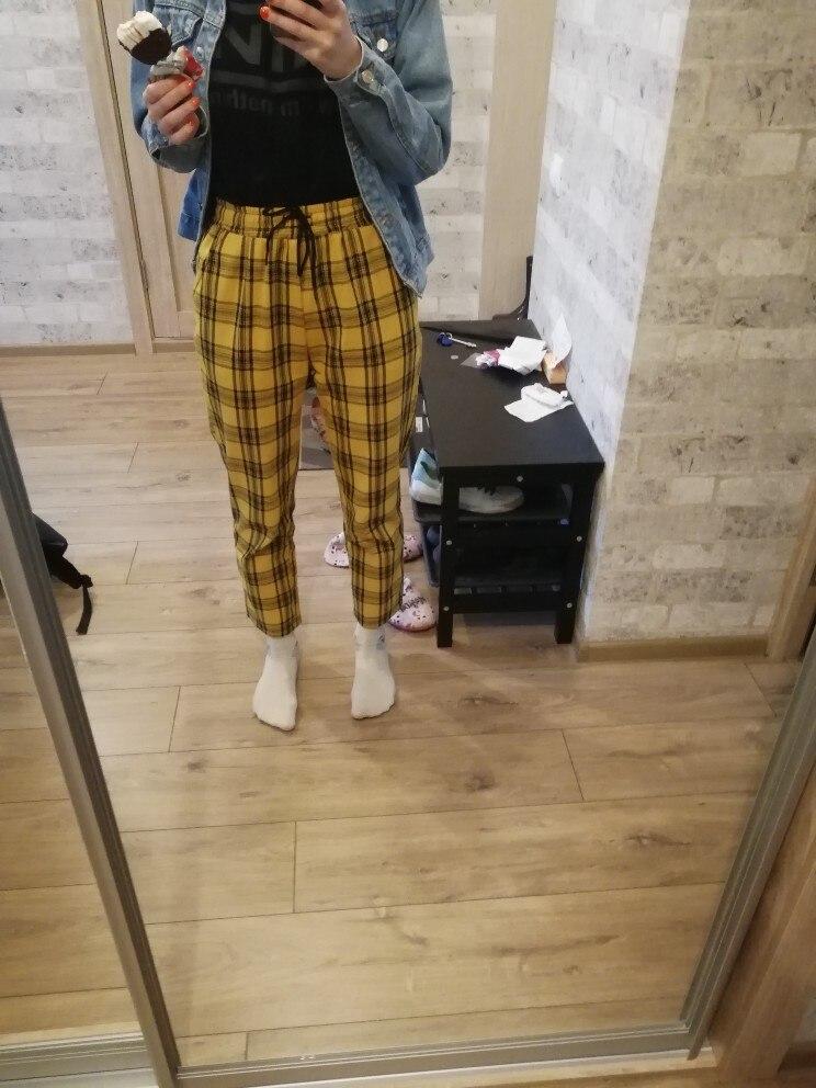 Calças e capris mulheres streetwear calças