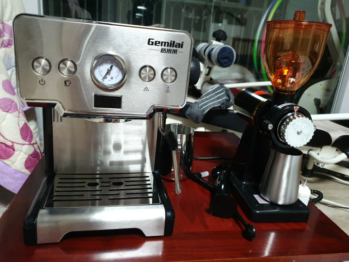Coffee Maker 15 Bar Cafetera Steam Semi automatic Cafeteira Milk Bubble Coffee Machine for Home CRM3605|Coffee Makers|   - AliExpress