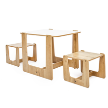 Children Furniture Chair-Set Stool Desk Table-Play Kids Toddler Montessori And Crane
