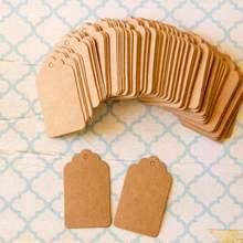 Kraft paper labels for wedding