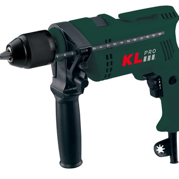 KLPRO KLDM1305 800 Watt 13 mm Professional Impact Drill. Electric drill, Wired, sleeve rebound driller and hammer impact drill impact drill stavr du 13 650 m