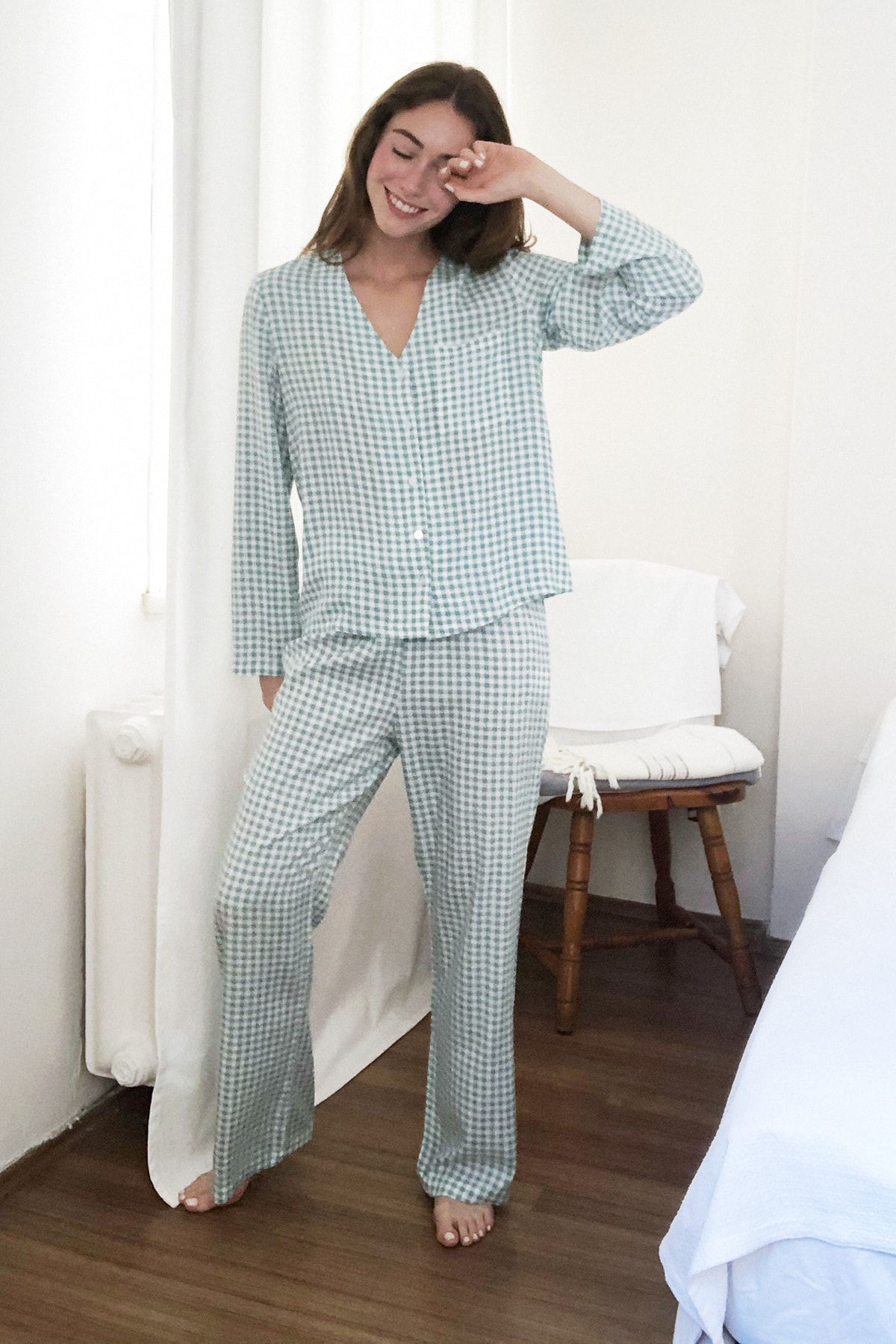 Trendyol Pötikare Woven Pajamas set THMAW21PT0001 Men