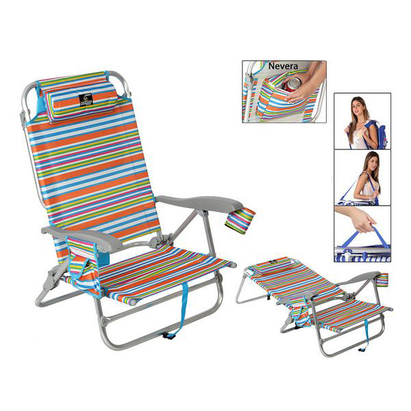 Folding Chair 118499 Aluminium Multicolour|  -