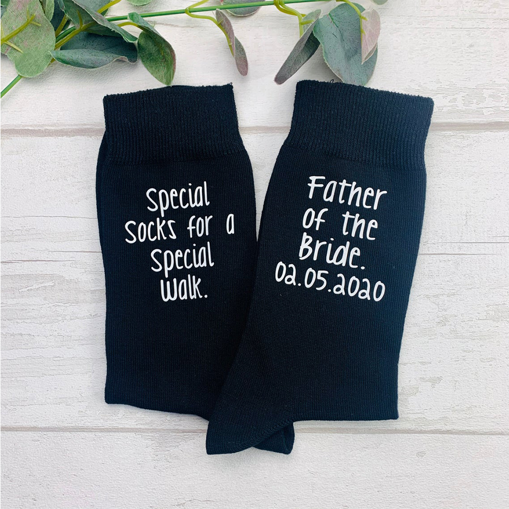 Navy Groom Socks Wedding Socks Groomsmen Gift Father of the Bride Socks Wedding Party Gift father of the bride gift