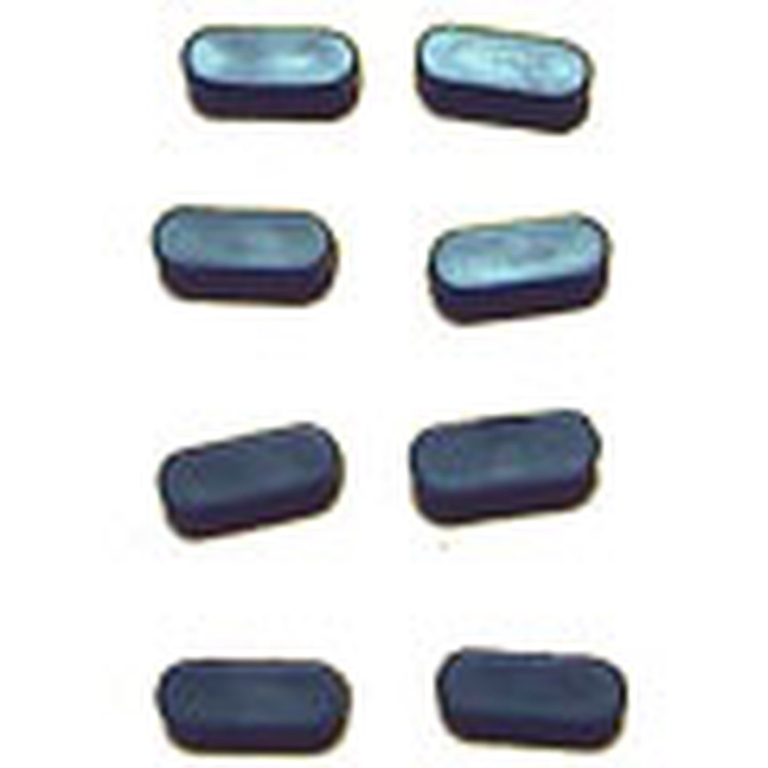 XBOX360 Replacement Rubber Feet-Set Of 8 code c1 reset potentiometer encoder 8 feet