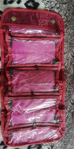 Bolsas p/ cosméticos zipper necessaries higiênico