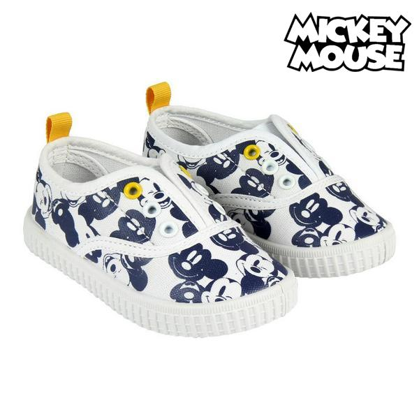 Children's Casual Trainers Mickey Mouse 73549 White