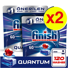 Finish Quantum Powerball Tablets Dish Tabs Dishwasher Pods Detergent Cleaner Tabs Cleaning Dishwashing Concentrate Tablet