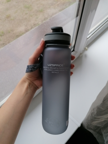 Water Bottles 650ml 1000ml Drinking Water Portable Leakproof Plastic Shaker My Sport Drink Bottle Tritan BPA Free Limited Stock-in Water Bottles from Home & Garden on AliExpress