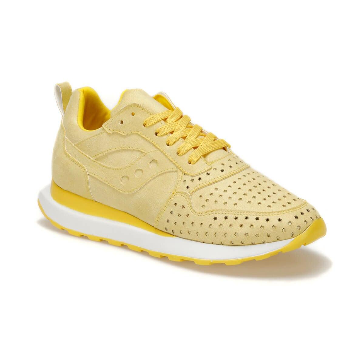 FLO CURRY51Z SUEDE Yellow Women 'S Sneaker Shoes BUTIGO