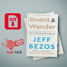 Invent and Wander Jeff Bezos