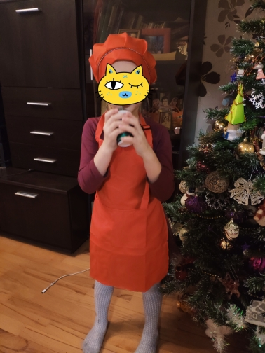 Child Front Pocket Apron photo review