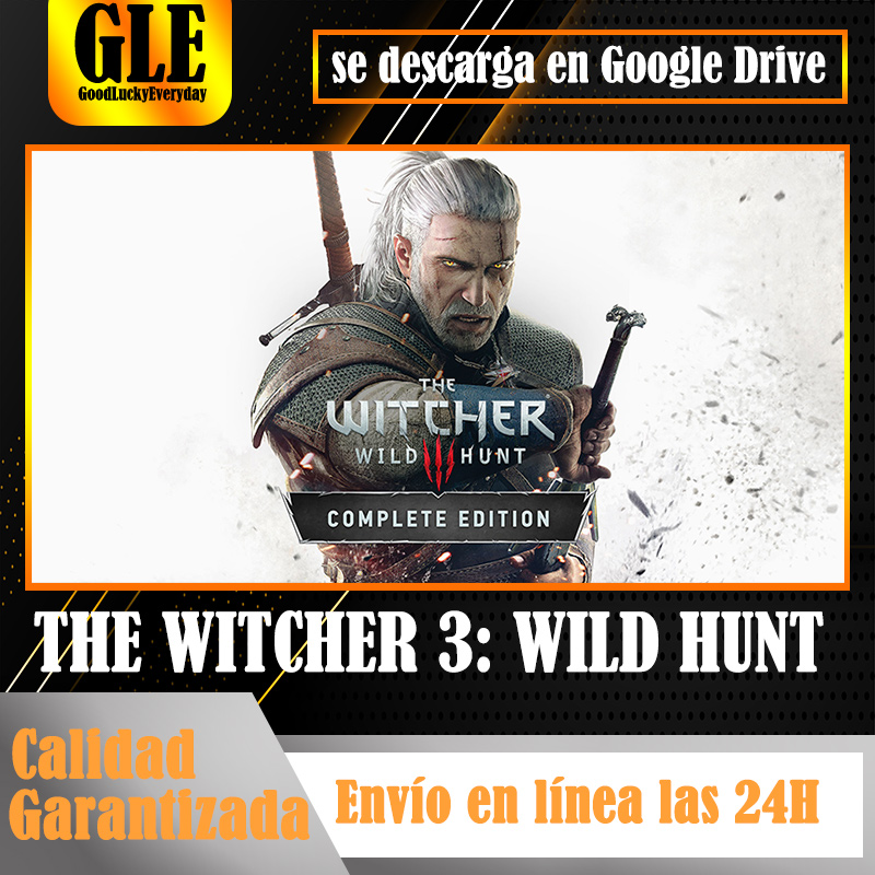 THE WITCHR 3: WILD HUNT Игра года издание видеоигр приложение для ПК уникальные игры приложение Скачать Google Drive decompress co|Игры для консолей|   | АлиЭкспресс