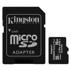 Karta pamięci Micro SD z adapterem Kingston SDCS2 100 MB/s exFAT