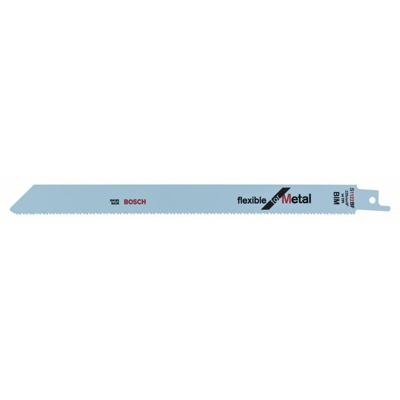 BOSCH-saw Blade Sable S 1122 BF Bendable For Metal