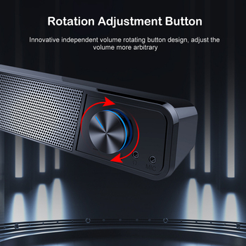 MiniBron Wireless Bluetooth Speaker Portable Bluetooth5.0 Speaker Wireless Speaker 4D Stereo Music Surround Speaker 4