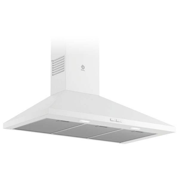 Conventional Hood Balay 3BC696MB 90 Cm 600 M3/h 69 DB 220W White