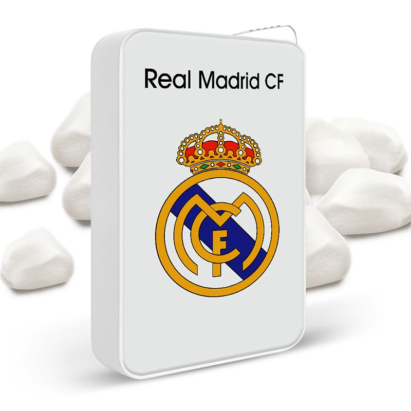 Personalized Metal Fans Cigarette Lighter (Real Madrid)