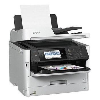 Multifunction Printer Epson WorkForce PRO WF-C5790DWF 34 ipm WIFI LAN Fax White