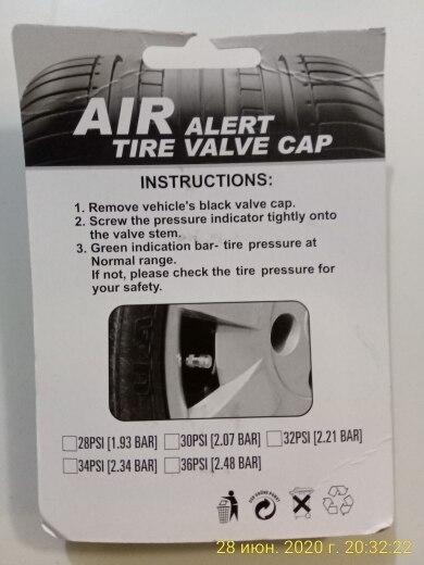 Car Auto Tire Pressure Monitor photo review
