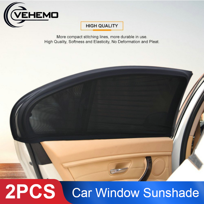 2Pcs Car Sunshade Sun Shade Auto Curtain UV Protection Windshield Sunshade Car Sun Protector Universal Car Window Cover